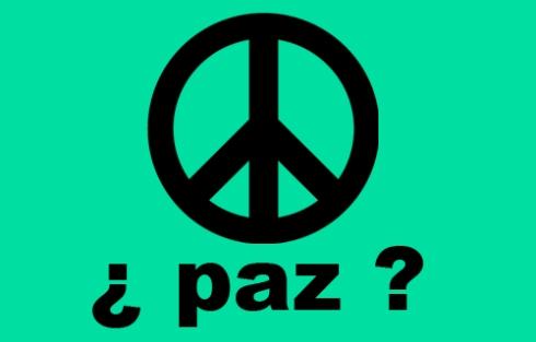 El Símbolo de la Paz Mundial No quiere decir Paz