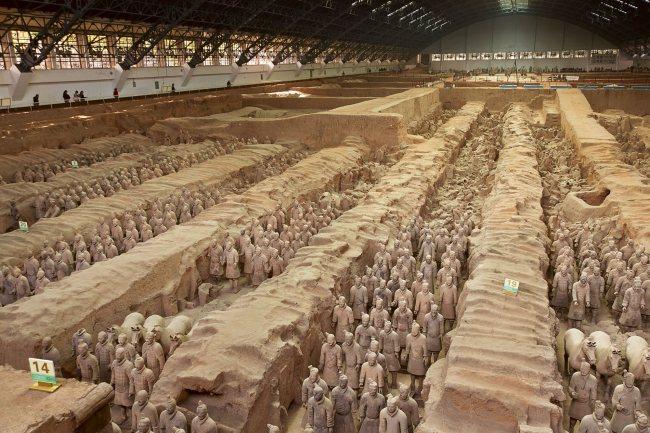 El monumental mausoleo de los guerreros de Xian